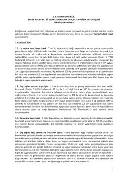 Teknik Şartname_30012014