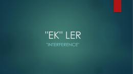 """EK"" LER - WordPress.com"