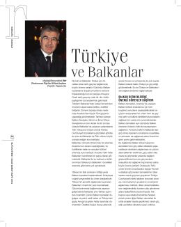 Türkiye ve Balkanlar, Suyun Ötesi, RUMELİFED, OcakŞubat