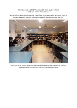 Takım Ruhu - Mev Koleji