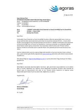 Diyarbakır OSB Mdr. - Diyarbakır Organize Sanayi Bölgesi