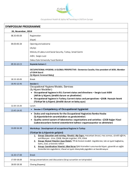 symposıum programme