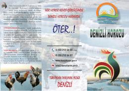 Denizli İl Gıda Tarım ve Hayvancılık Müdürlüğü