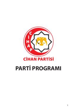parti programı - cihanpartisi.org.tr
