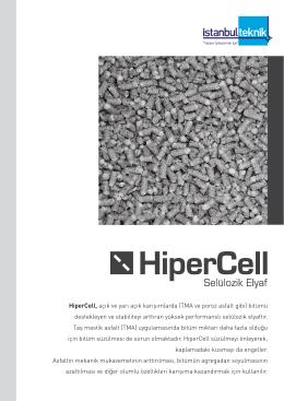 HiperCell, açık ve yarı açık karışımlarda (TMA ve