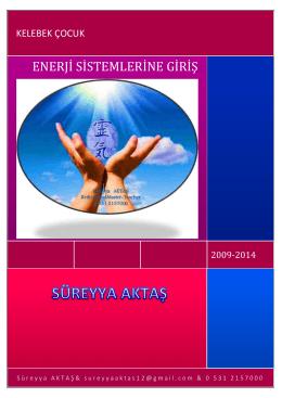 ENERJİ SİSTEMLERİNE GİRİŞ