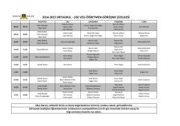2014-2015 ortaokul - lise veli