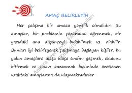 Ankara Özel Tevfik Fikret Okulları PDR Servisi