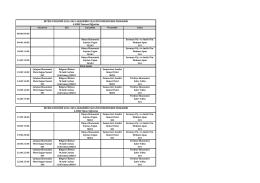 4.SINIF İkinci Öğretim İKTİSAT BÖLÜMÜ 2014