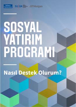 katılım dosyası - SYP - Sabancı Üniversitesi