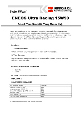 ENEOS Ultra Racing 15W50