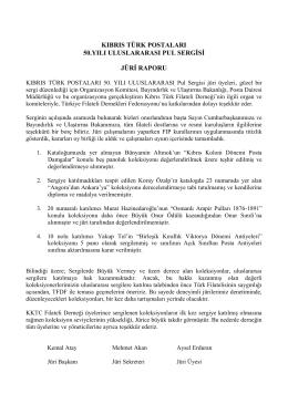 KIBRIS TÜRK POSTALARI 50.YILI ULUSLARARASI PUL