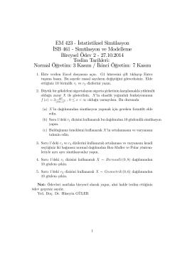 Bireysel Ödev 2 için tıklayınız