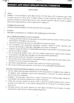 şARTNAMEsİ - Burdur İl Milli Eğitim Müdürlüğü