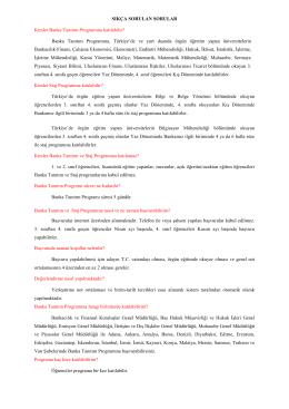 SSS-Sıkça Sorulan Sorular\(07 11 2014\)
