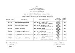 2013-2014 sosyoloji bahar yarıyılı tezsiz yüksek lisans final