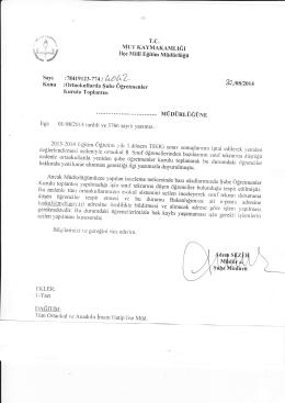 fu.ıoyzoıı - mut ilçe millî eğitim müdürlüğü
