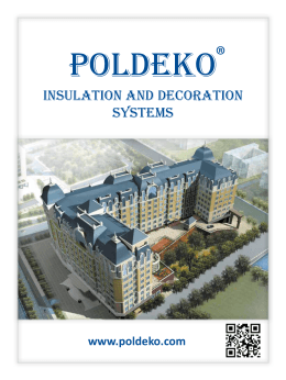 insulation and decoration systems