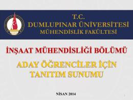 Slayt 1 - Türk Dili Bölümü