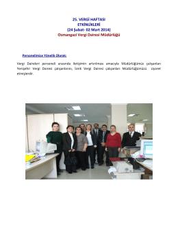 Osmangazi Vergi Dairesi Müdürlüğü
