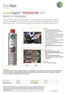 Ürün Bilgisi micrologic PREMIUM 157