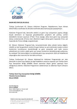 Türkiye Cumhuriyeti 62. Dönem Hükümet Programı