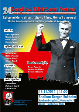 el ilanı - Yeni Demokratik Gençlik