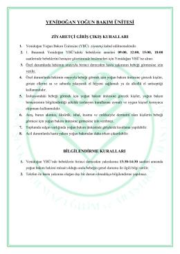 yenidoğan yoğun bakım ünitesi