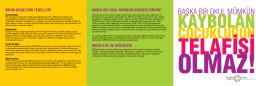 BBOM Tanıtım Broşürü - Başka Bir Okul Mümkün