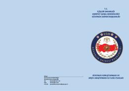 tc içişleri bakanlığı emniyet genel müdürlüğü güvenlik dairesi
