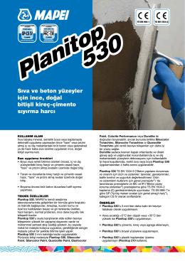 Sıva ve beton yüzeyler için ince, doğal bitişli kireç-çimento