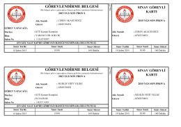 şalpazarı - Trabzon Milli Eğitim Müdürlüğü