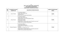 tc muş il özel idaresi genel sekreterliği mali hizmetler müdürlüğü