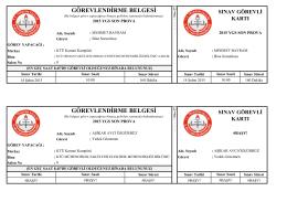 ek liste - Trabzon Milli Eğitim Müdürlüğü