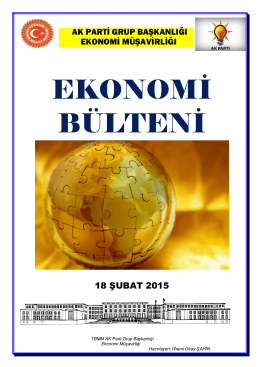 18.02.2015 Ekonomi Bulteni