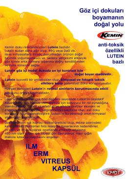 Kermin Anti-Toksik Lutein bazlı boyar madde