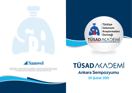TÜSAD Akademi Ankara Sempozyumu