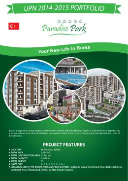 Çınar Park Konakları Flyer A4 Web