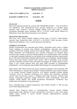 24.02.2015 - 37 kararın tarihi ve no : 24.02.2015
