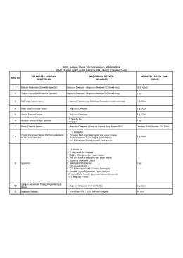 idari ve mali işler şube müdürlüğü