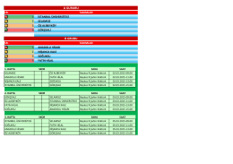 2015 futsal ligi programı