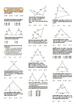 üçgnede benzerlik - Kartanelerim.com
