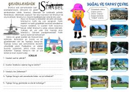 sınıf tekrar dergisi 19. sayı – şehirlerimiz (istanbul)