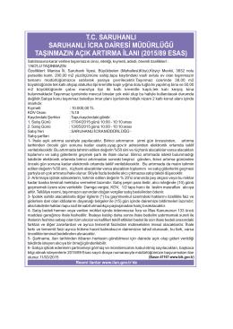 2015/89 esas - saruhanli.gen.tr