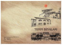 TBMM Binaları - Türkiye Büyük Millet Meclisi