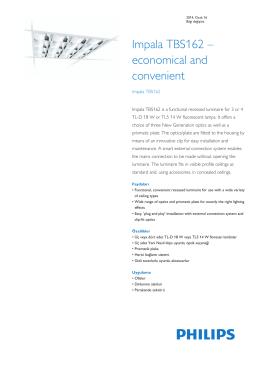 Product Familiy Leaflet: Impala TBS162
