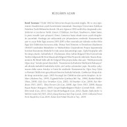 rüzgârın azabı - Yapı Kredi Kültür Sanat Yayıncılık