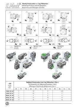 İRSD_M Serisi (Motorlu Redüktörler)