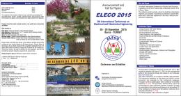 Eleco 2005 - eleco`2014, bursa
