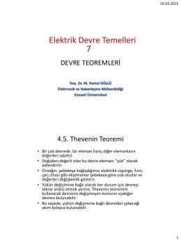 Elektrik Devre Temelleri 7